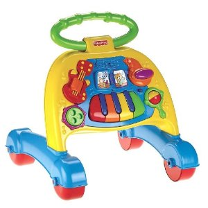 DD Fisher Price Walker Product Review: Musical Activity Walker by Fisher Price