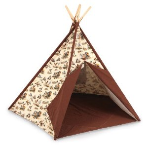 DD tee pee Product Review: Cowboy Tee Pee by Pacific Play Tents