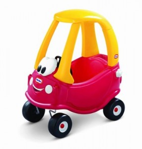 dd Cozy Coupe by Little Tikes 286x300 Product Review: Cozy Coupe by Little Tikes
