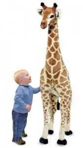 DD Giraffe Plush by Melissa Doug 169x300 Product Review: Giant Giraffe by Melissa & Doug