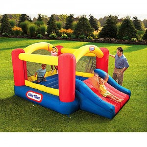 © Jump 'n Slide Bouncer by Little Tikes